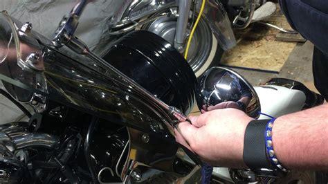 Harley Davidson Light Bar by Removing The Front Light Bar Harley Davidson Road King