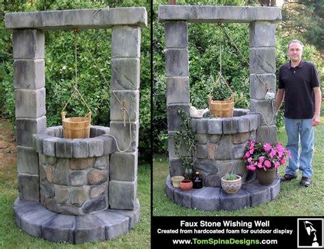 Foam Wishing Well Custom Sculpture Outdoor Decor