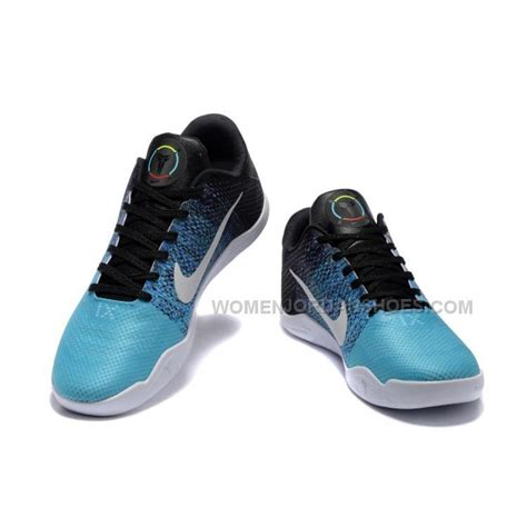 light nike shoes nike 11 light blue white black basketball shoes