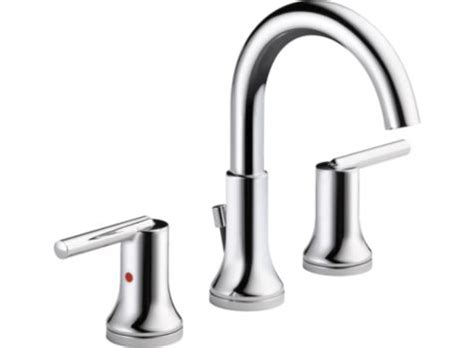 Delta Trinsic Widespread Bath Faucet by Delta 3559 Mpu Dst Trinsic Widespread Bath Faucet W Metal