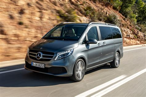 Mercedes V Class Picture by Mercedes V Class Mpv Review Pictures Carbuyer