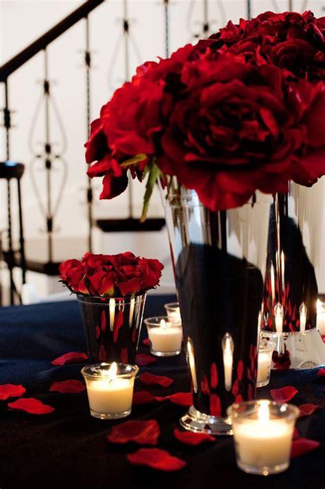 roses centerpieces ideas red rose centerpiece idea wedding style pinterest