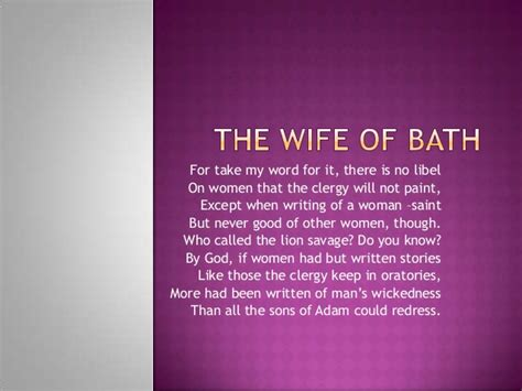 0007459629 the wife s tale a personal wife of bath quotes quotesgram