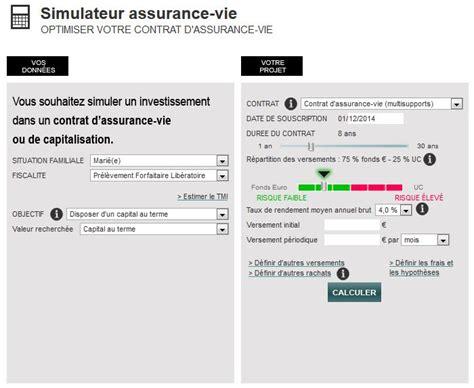 le meilleur simulateur d assurance vie en ligne est