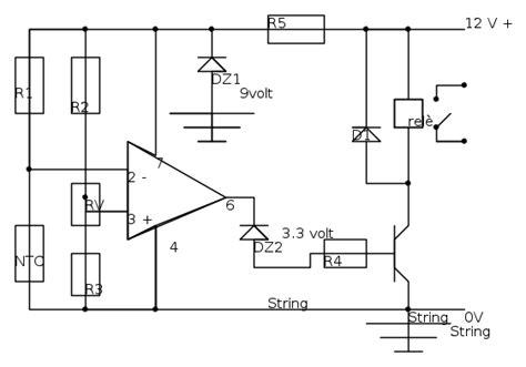 librerie fidocad circuito termostato il forum di electroyou
