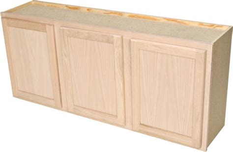 quality     unfinished oak laundry wall cabinet