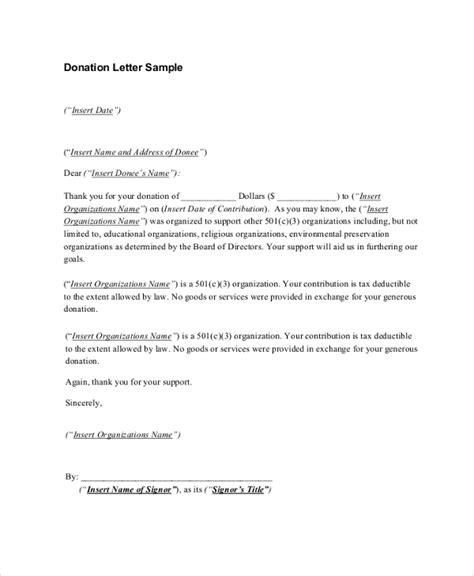 church donation receipt letter template sle donation receipt letter 7 documents in pdf word