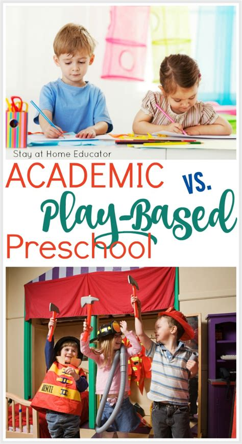 preschool benefits research what you need to about academic vs play based preschool 955