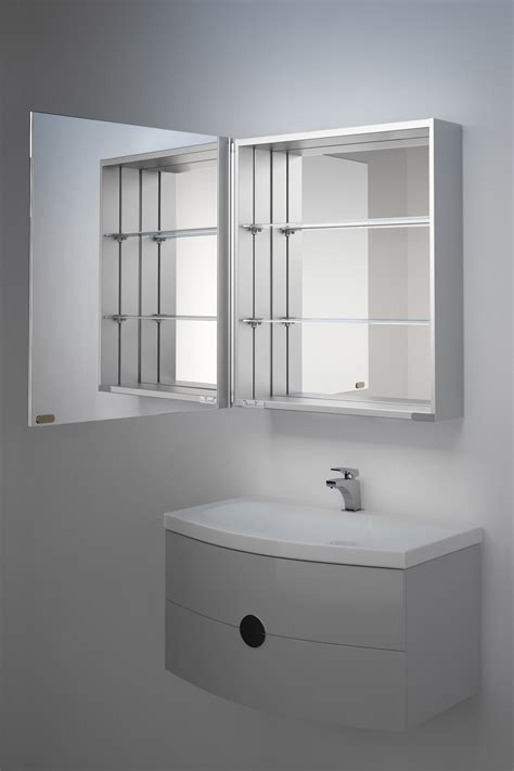 Illuminated Bathroom Mirror Cabinets Uk by Iris Non Illuminated Bathroom Mirror Cabinet K138 Ebay