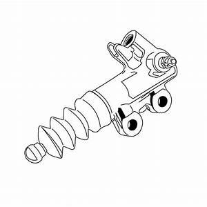 Toyota Celica Clutch Slave Cylinder  Concentric Slave