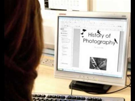 microsoft office publisher  photographic portfolio