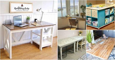 decorative diy desk solutions  plans   room