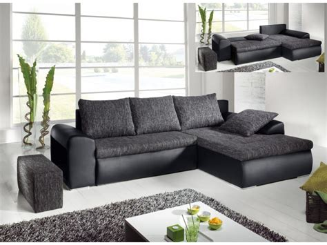 fauteuil bureau cuir blanc canapé d 39 angle convertible 2 coloris mississippi