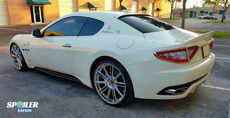 Maserati Granturismo Coupe by 2012 2017 Maserati Granturismo Coupe Rear Lip Spoiler Mc