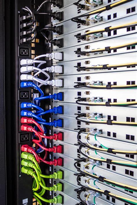 Beautiful Cable Management Pactech Data Center Cables