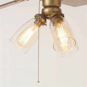 Ceiling lighting fan light globes contemporary