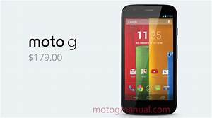 Motorola Moto G Manual User Guide And Instructions