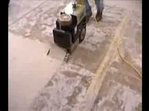 Enlever Colle Moquette Sur Beton : d colleuse stratomobil youtube ~ Nature-et-papiers.com Idées de Décoration
