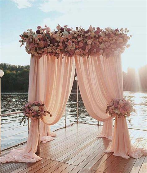 Nice 50+ Beautiful Wedding Backdrop Ideas https://fazhion