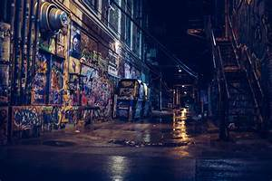 Wallpaper, City, Street, Cityscape, Night, Building, Reflection, Road, Photography, Blue