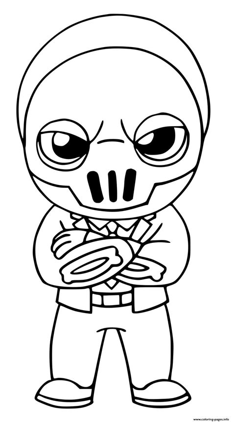 shadow brutus fortnite coloring pages printable