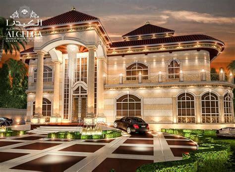 Luxury Villas Exterior Design In Uae, Dubai, Uae