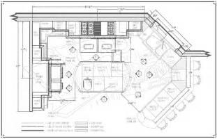 kitchen floor plans free home ideas
