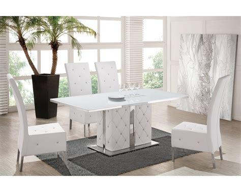 chaise grise et blanche chaise capitonnée salle a manger bricolage maison et