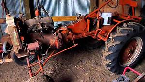 Allis-chalmers  U0026quot B U0026quot  Project