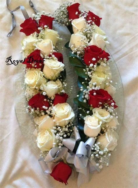bridal haar garland  wedding fresh flower jewelry