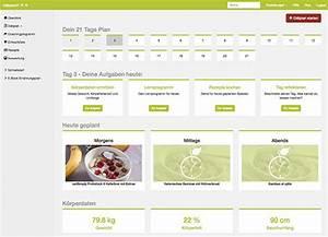 Detox Diät Plan 21 Tage : ern hrungsplan erstellen mit kostenloser app ~ Frokenaadalensverden.com Haus und Dekorationen