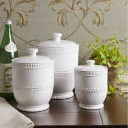 Decorative Kitchen Canisters Sets 3 White Lidded Canister Set Jars Containers Decorative Kitchen Storage Ebay