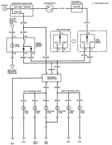 2006 Acura Rl Wiring Diagram by 2001 Acura Rl Wiring Diagrams Wiring Data