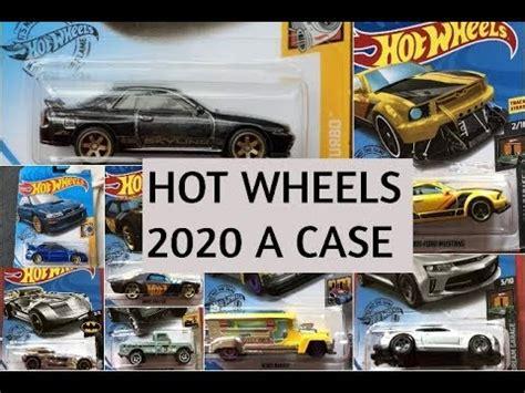 complete hot wheels   case cars     case