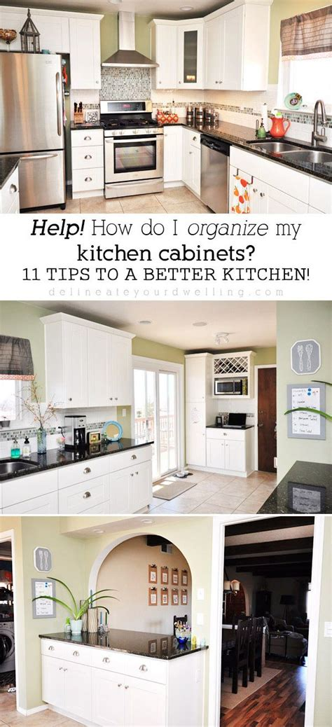 decor hacks 11 tips for organizing your kitchen cabinets