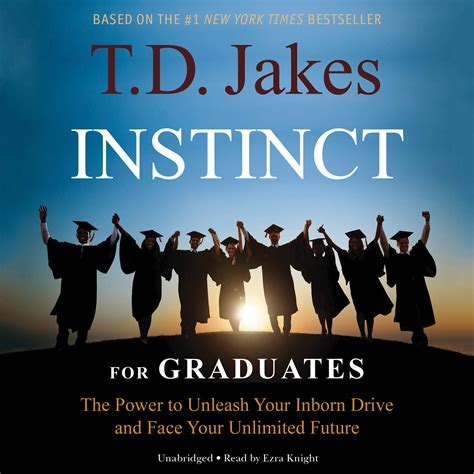 instinct for graduates audiobook by t d jakes