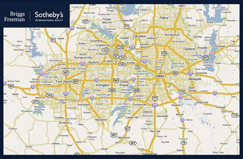 dallas fort worth metro map travelquazcom