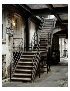 Rustic Industrial Stairs