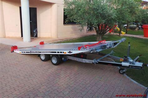 vendo carrello porta auto vendo rimorchio carrello trasporto auto in alluminio 500