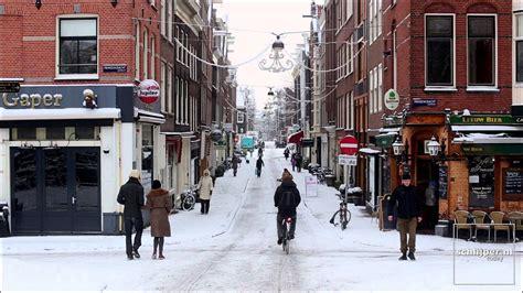 130115 Amsterdam Snow Youtube