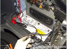 BMW E60 5Series Battery and Connection Notes Replacement