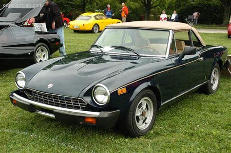 1979 Fiat 124 Spider 2000 Image Photo 29 Of 30