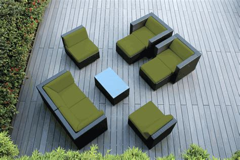 beautiful outdoor patio wicker furniture seating 9pc