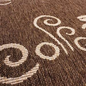 Teppich modern flachgewebe sisal optik kuchenteppich for Küchenteppiche