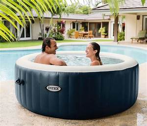 Spa Gonflable Intex Pure Spa Plus 4 Places RAVIDAY