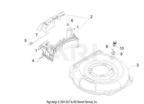 troy bilt  brq tb  xp  parts diagram