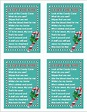 Printable Candy Cane Poem for Christmas - Flanders Family ...