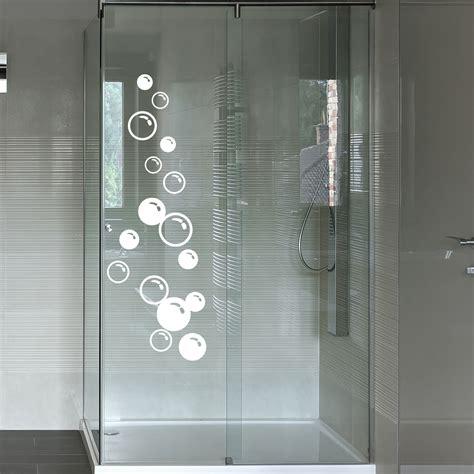 stickers muraux pour salle de bain sticker mural bulles savon ambiance sticker