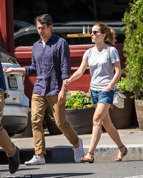 Emma Watson Seen With Boyfriend William Mack Knight Nyc