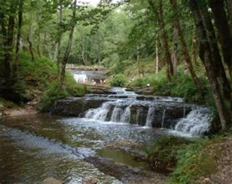 site naturel class 233 des cascades du h 233 risson